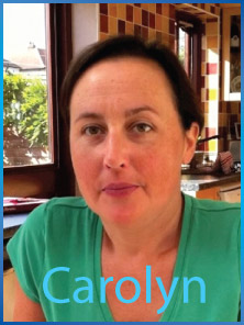Click to see and hear Carolyn